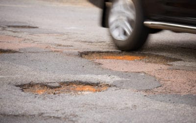 Pothole repair: counting the carbon cost